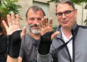 Below....Giovanni Marsicano (left) and Stéphane Oliet (right) from The International Astrocyte Club…