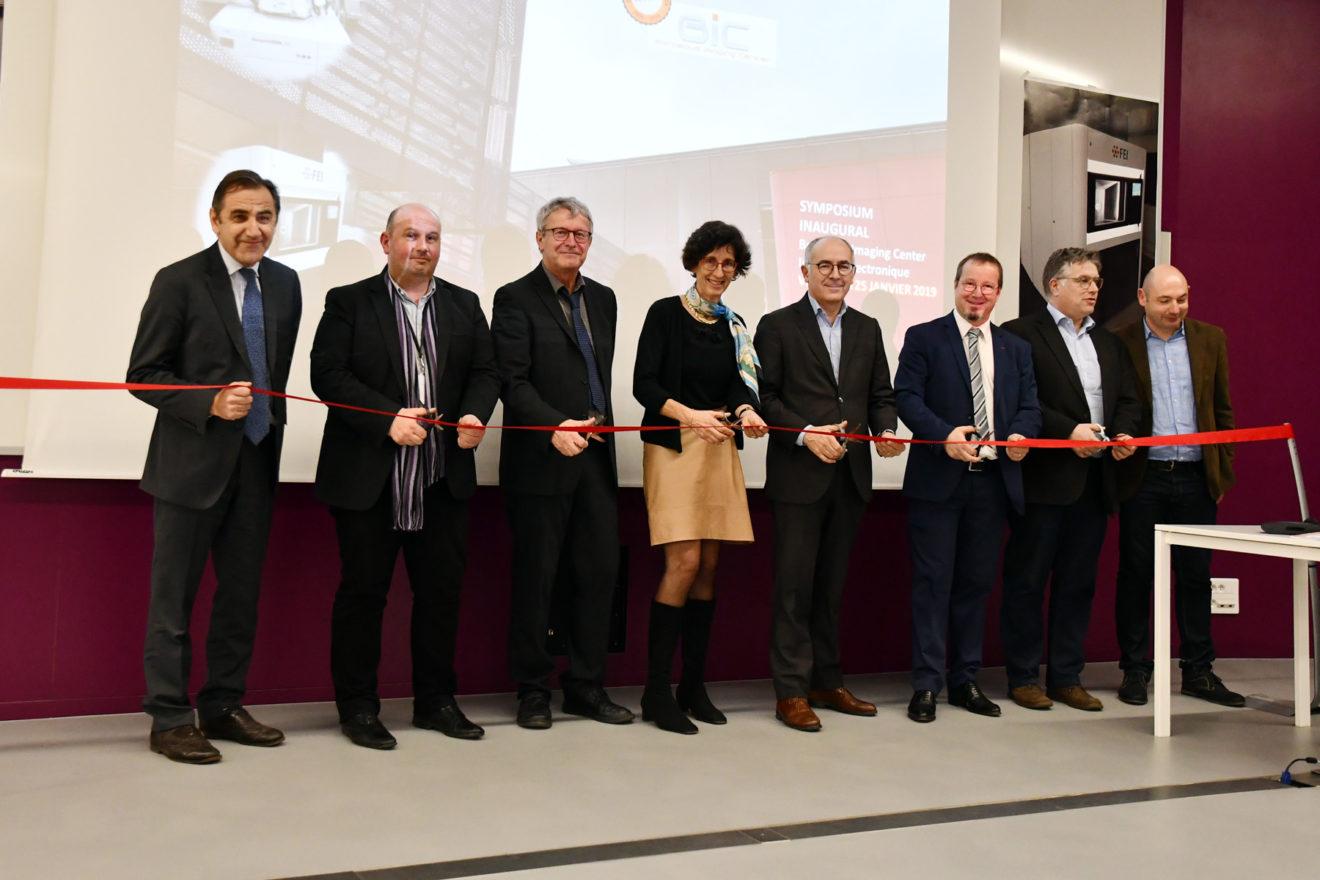 Inauguration du pôle électronique du BIC