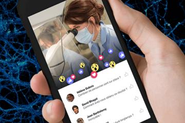 Facebook live par le CNRS