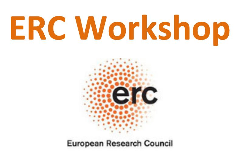 ERC Workshop le 11 avril