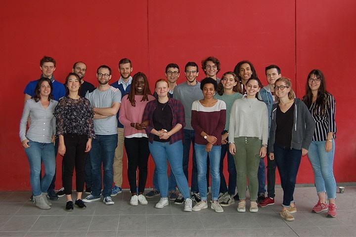 Des étudiants de l'école Santé Sciences accueillis à l'école des neurosciences
