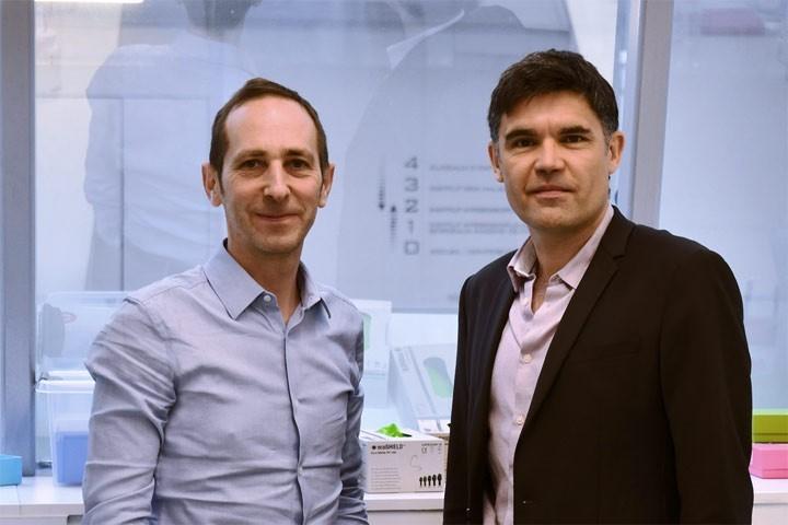 Frédéric Villéga et Laurent Groc soutenus par SPARK Bordeaux