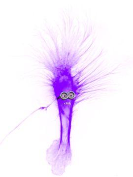 03 - The Purple Minion cell (Photo d'une cellule amusante recolorisé)
