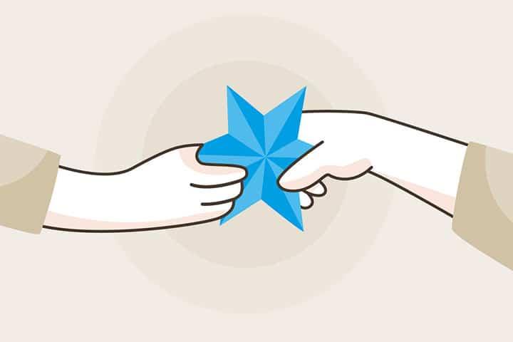Un geste de solidarité pour les vœux 2021
